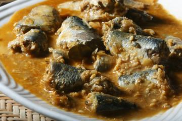 Fish varutharacha curry- a South Kerala style Fish Curry