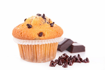 muffin isolated