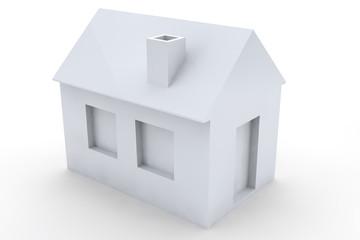 Simple 3D House