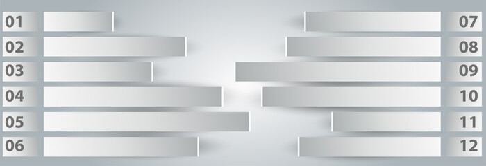 metal steps and light background sample. eps 10 vector.