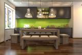 3D - Moderne Küche (I)