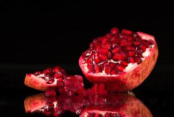 ripe pomergranate