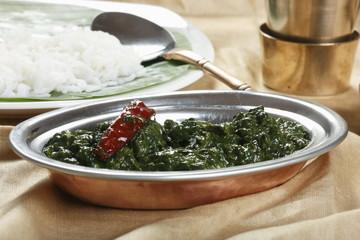 Tamil Spinach Keerai – A dish from TamilNadu