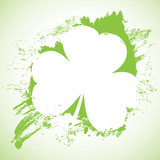 Grunge St. Patrick Day background, vector