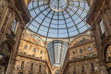 Galleria Vittorio Emanuele , Shopping art gallery in Milan.
