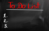 To Do List Concept