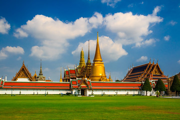 The beautyful of Wat Phra kaew