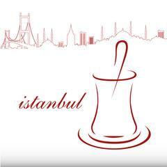 çay,vektörel çay bardağı,istanbul