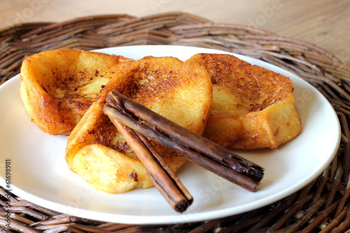 Torrijas. French toast. Pain perdu