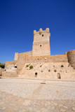 Villena Castle in Costa Blanca Alicante Spain