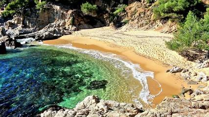 Costal in Spain(Costa Brava)