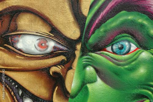 Ojos de maldad