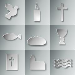 9 christliche Symbole