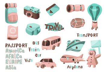 Travel icons 01
