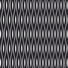 Vector seamless pattern. Repeating geometric tiles