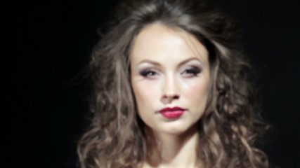 Beautiful girl with professional make up