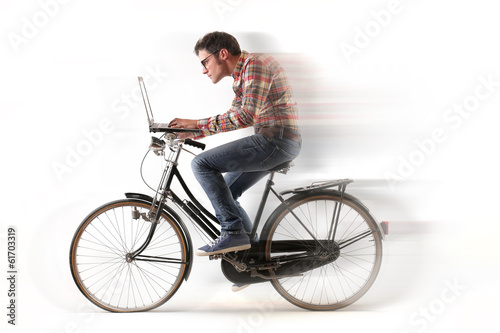 cycling guy