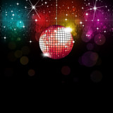 Fototapety Disco Background