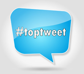 hashtag toptweet