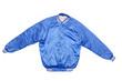 Boy's blue jacket.