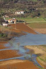 allagamento campo agricoltura danni meteoreologia