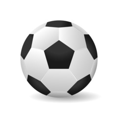 Soccer ball vector illustration