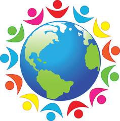 Символ, мир, планета, земля