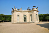 Marie Antoinette estate in the parc of Versailles Palace
