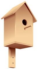 Nesting box, birdhouse