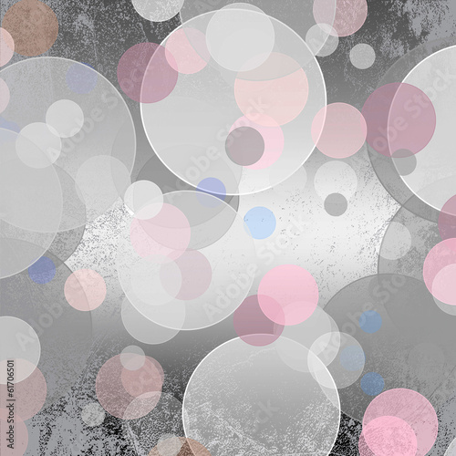 Abstract silver background, beautiful shiny lights, bokeh © iluzia