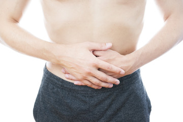 Abdominal pain in men