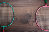 old badminton rackets