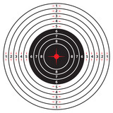 crosshair with red dot