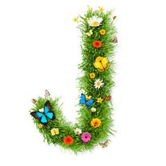 "Spring letter ""J"""