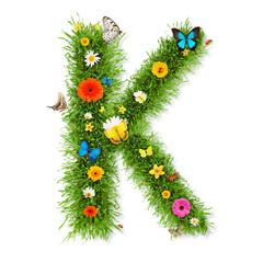 "Spring letter ""K"""