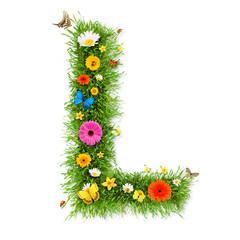 """Spring letter """"L"""""""