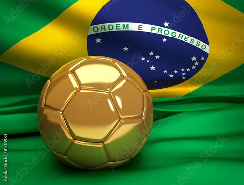 canvas print picture Brazil 2014