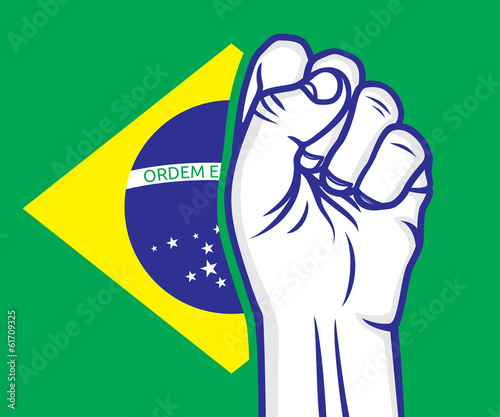 brazilian revolution fist