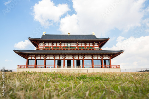Heijo Palace in Nara, Japan