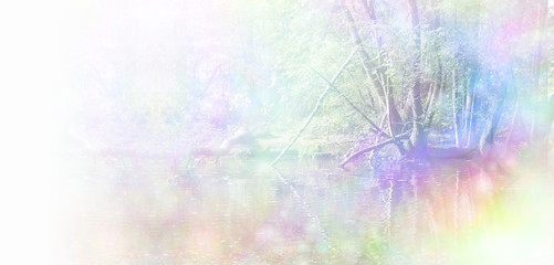 Healing Nature Website Header