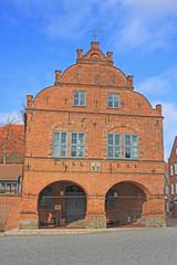 Renaissance-Rathaus von Gadebusch (Mecklenburg-Vorpommern)