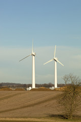 Making the most of farm land,wind turbines,
