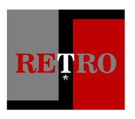 retro background concept