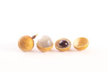 Fresh longan fruits, or dragon eye