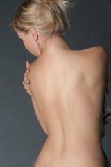 Nackter Rücken