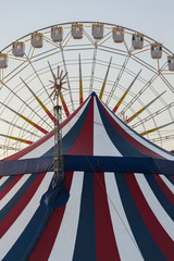 Noria y Carpa de Circo