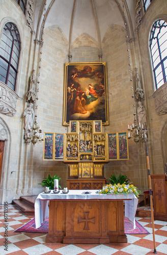 Vienna - Church of the Teutonic Order or Deutschordenkirche