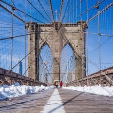 New York City Pont de Brooklyn à Manhattan