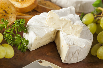Organic Homemade White Brie Cheese