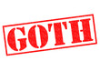 GOTH Rubber Stamp
